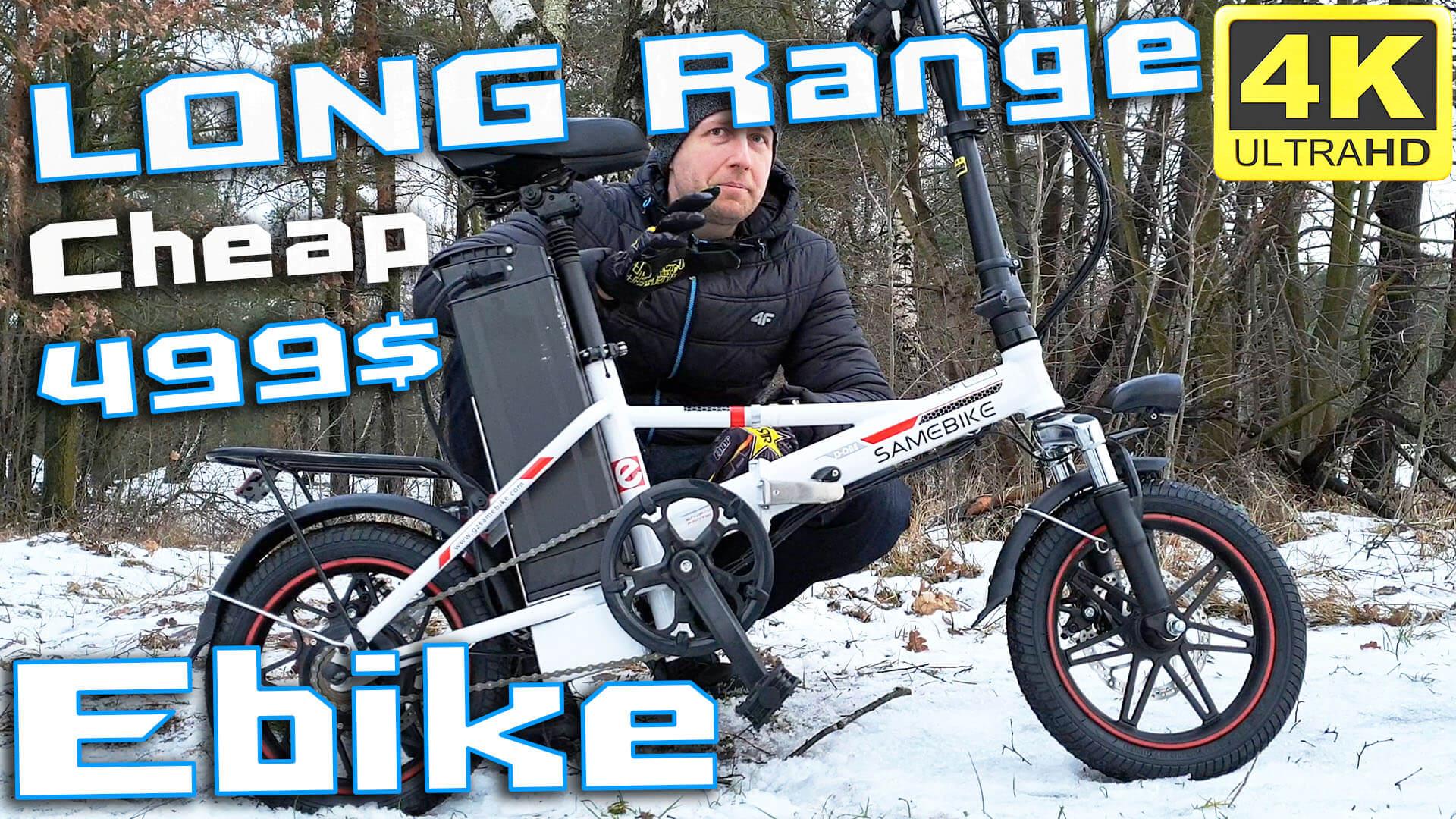 Samebike XMZ1214 Cheap LONG RANGE Electric Bike Opinion