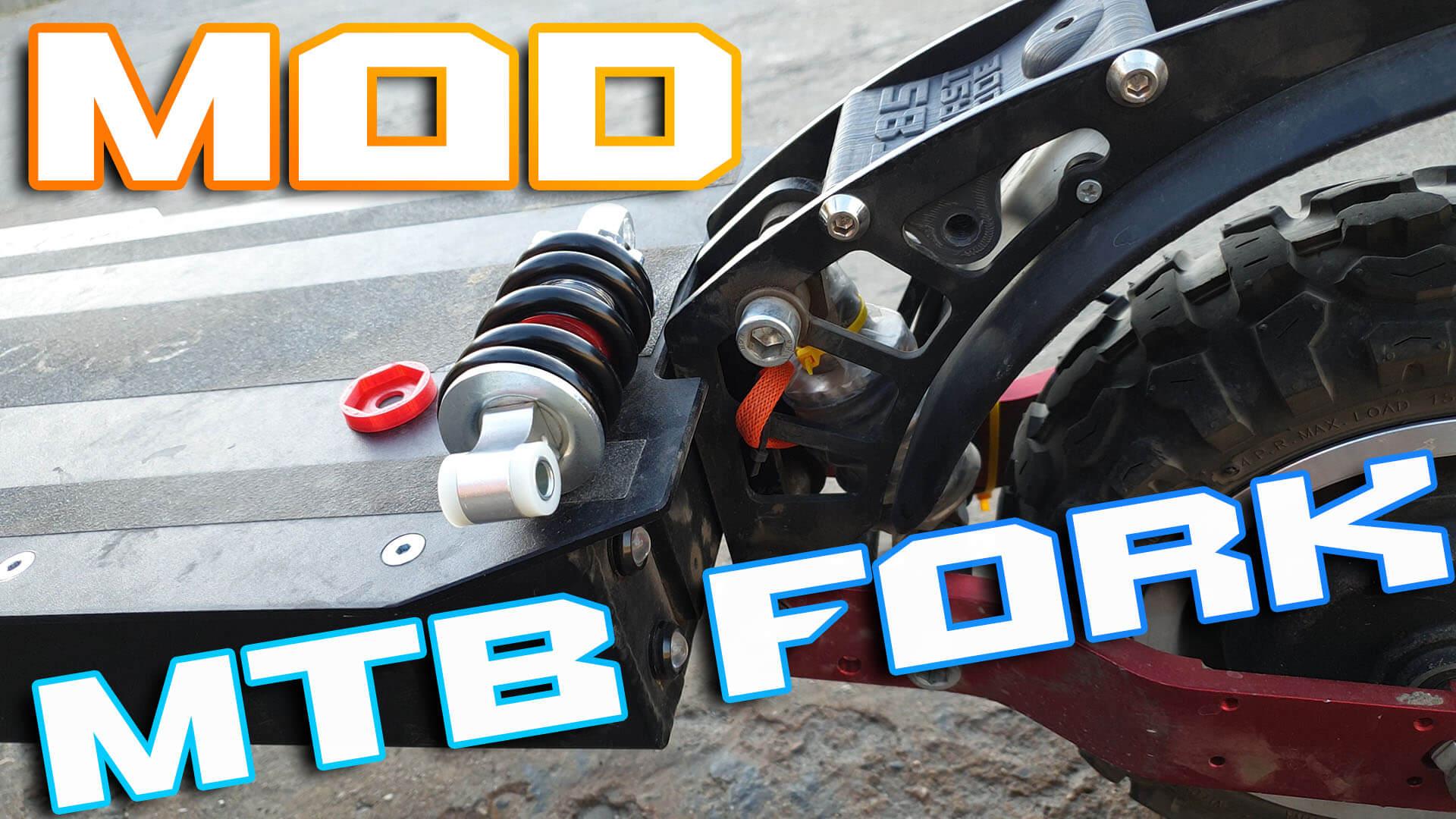 MTB Shock MOD for Janobike T85, Boyueda …